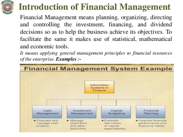financing management