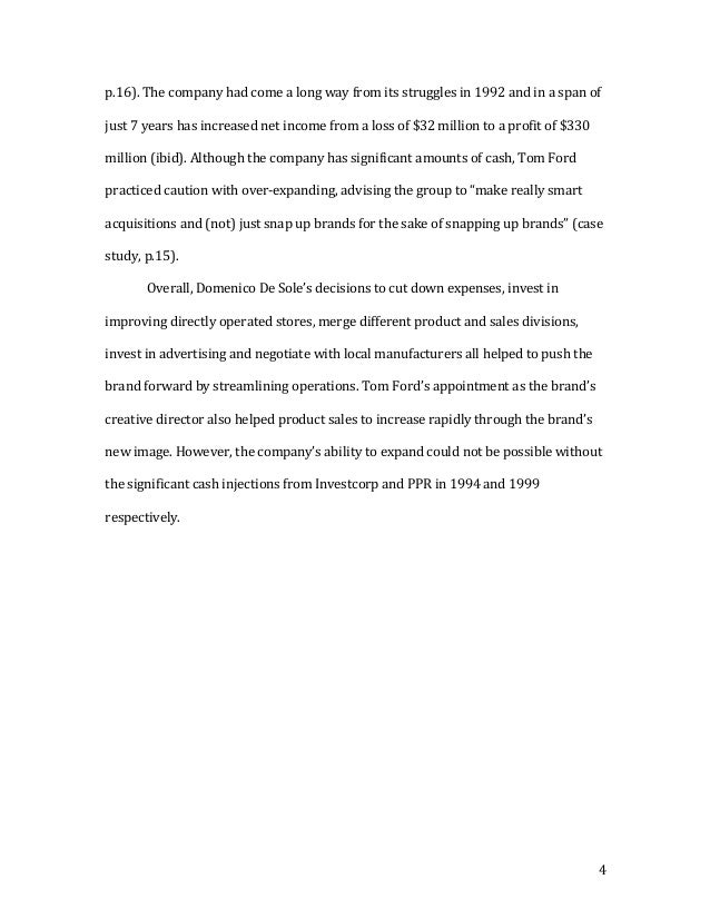 financial management final project individual essay  4