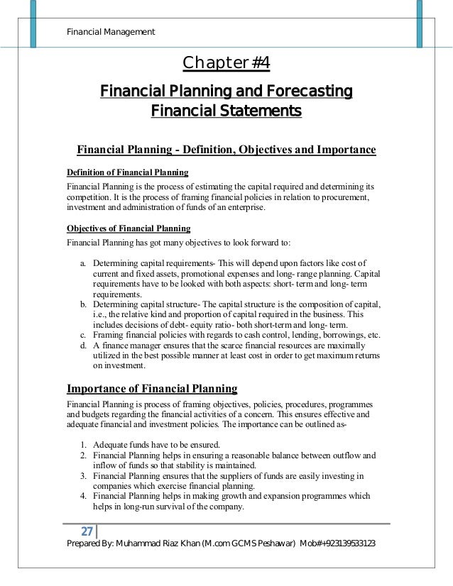 financial management notes Financial management (f9) september 2015 to june 2016 this syllabus and study guide are designed to help with planning study and to provide detailed.