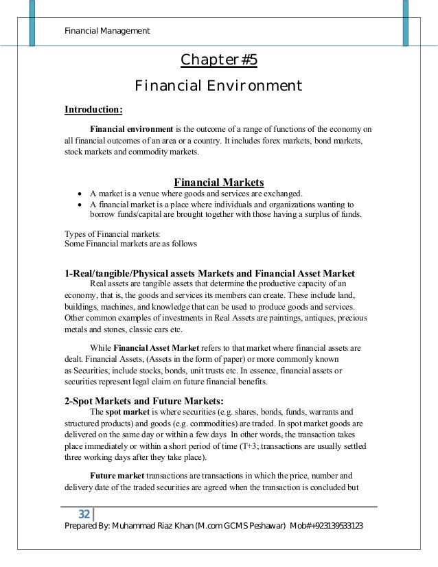 Forex management notes for cs final