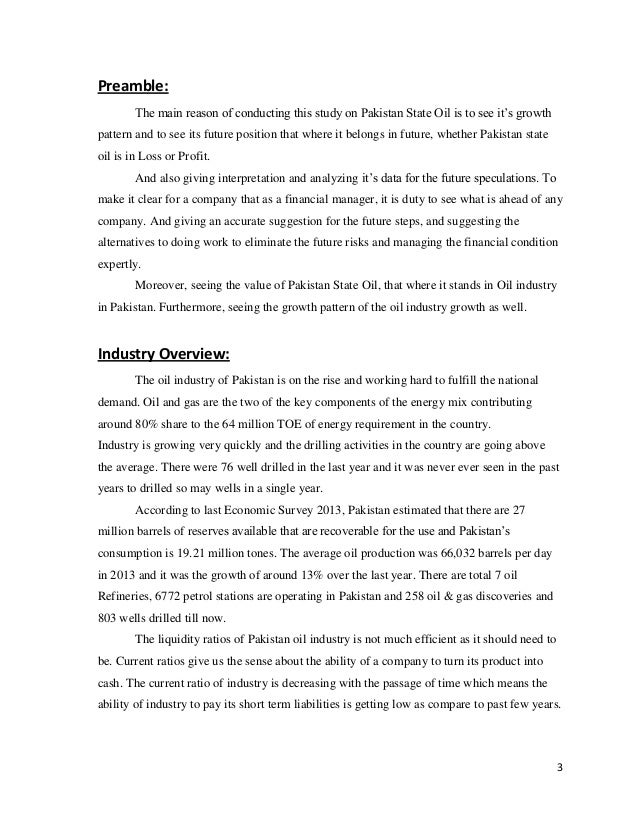pakistan state oil report Status of petroleum sector in pakistan - a review bank report] 23 oil consumption by user sector and pakistan state oil company limited and pakistan oilfields.