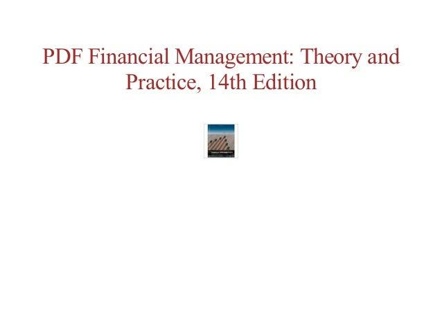 Amazon. Com: financial management: theory & practice ebook: eugene.