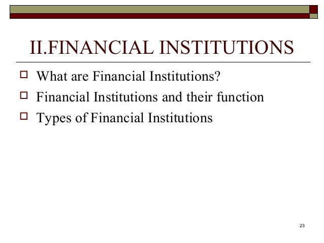 financial institution and markets For all undergraduate and graduate students of financial markets a practical and current look into today's financial markets and institutions in financial markets and institutions.