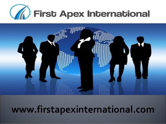 www.firstapexinternational.com
