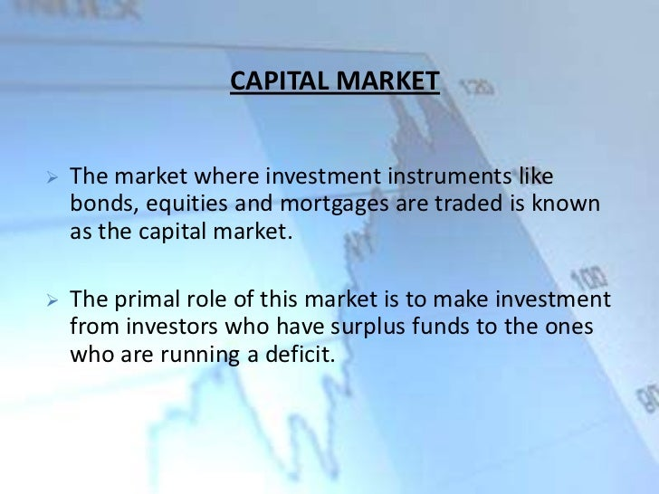 Financial Markets Pdf