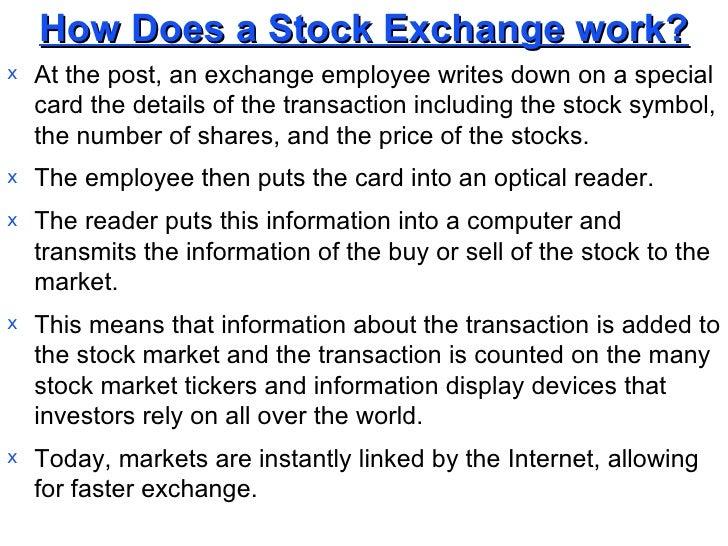Financial Markets An Overview