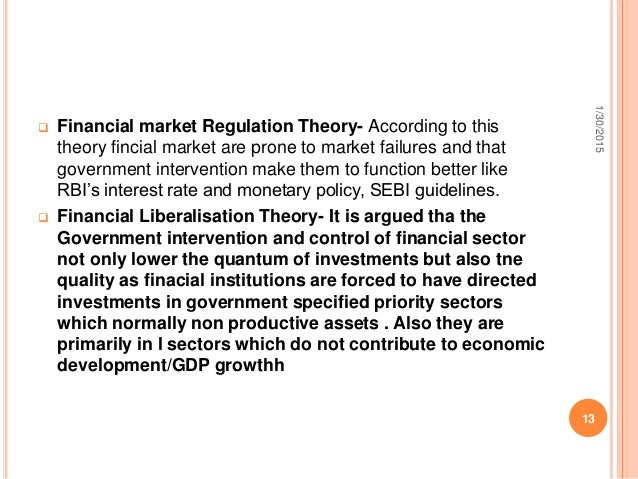 game theory and financial market regulation Families rely on the financial markets to obtain mortgages or to help finance their as predicted by the financial accelerator theory regulation q, which.