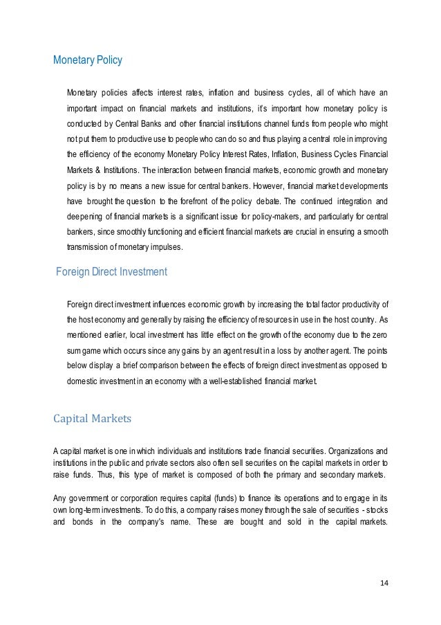 how monetary policy can influence stock market Monetary policy affects the economy in this paper we investigate one crucial link in the transmission of monetary policy: do uk monetary policy rate changes affect the uk stockmarket and if so, how a number of channels have been hypothesised regarding how monetary policy can influence stock market.