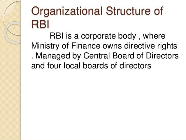 RBI | Origin | Objectives | Organization | Management | Departments