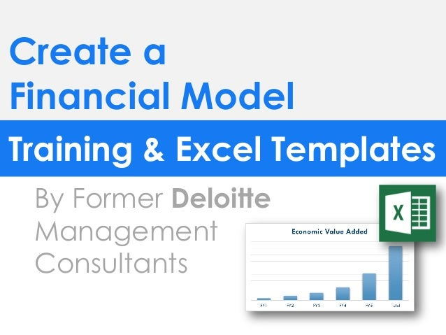 Financial model for Financial modelling templates