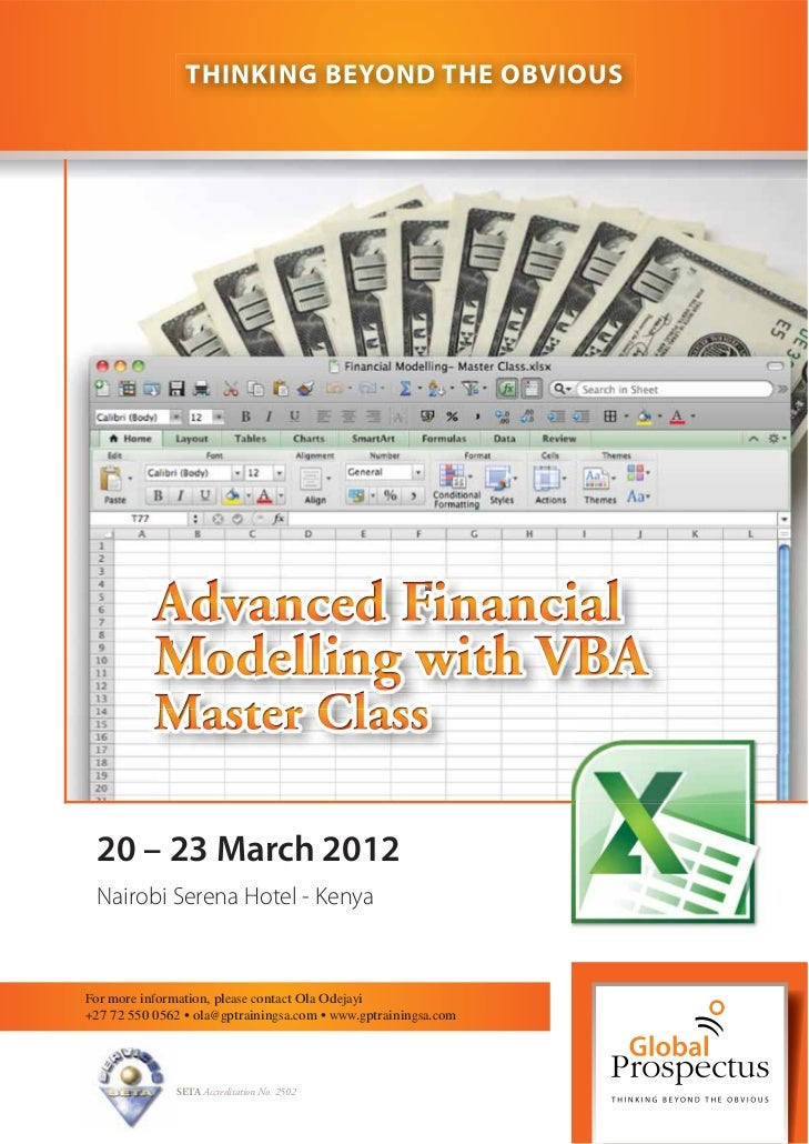 THINKING BEYOND THE OBVIOUS 20 – 23 March 2012 Nairobi Serena Hotel - KenyaFor more information, please contact Ola Odejay...