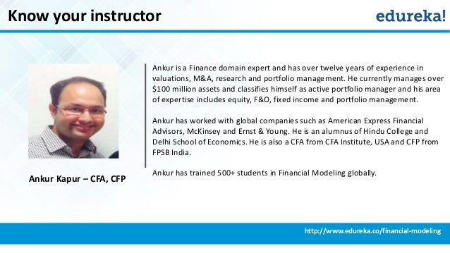 introduction to financial modelling pdf
