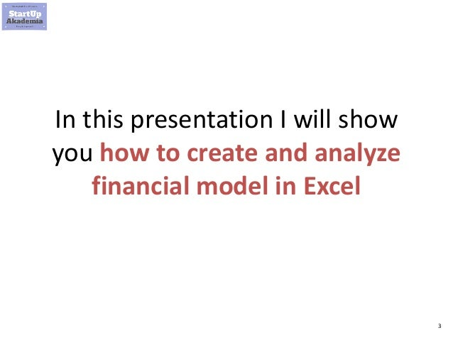 Financial modeling in Excel for Business Analysts and Consultants Slide 3