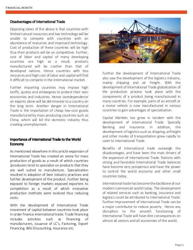 Financial month magazine