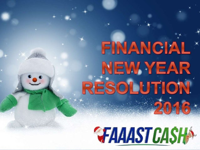 People often make New Year's resolutions telling themselves they're going to do better with money this year. The fact is t...