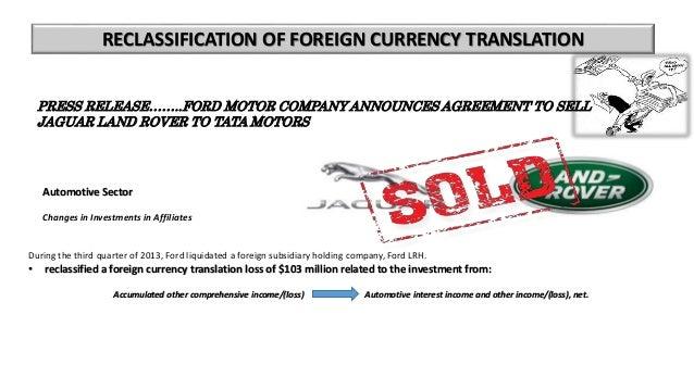 Ford motor company balance sheet for Ford motor company financial analysis 2015