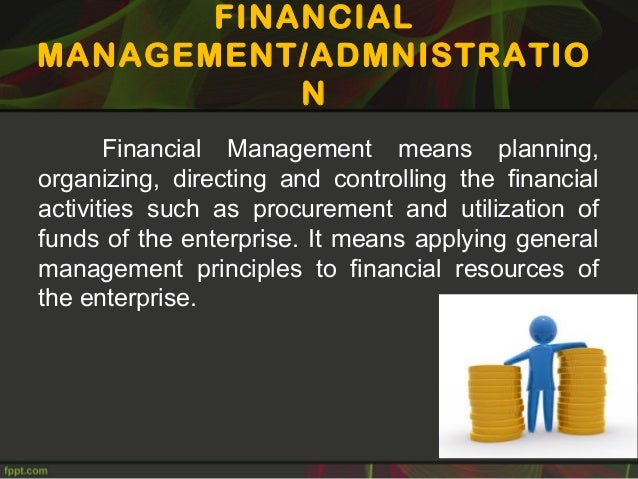 fiscal management by controlling expenditure 8 other organisations spending public funds by the virtue of statute  (2)  financial management and control shall be carried out through financial  management.