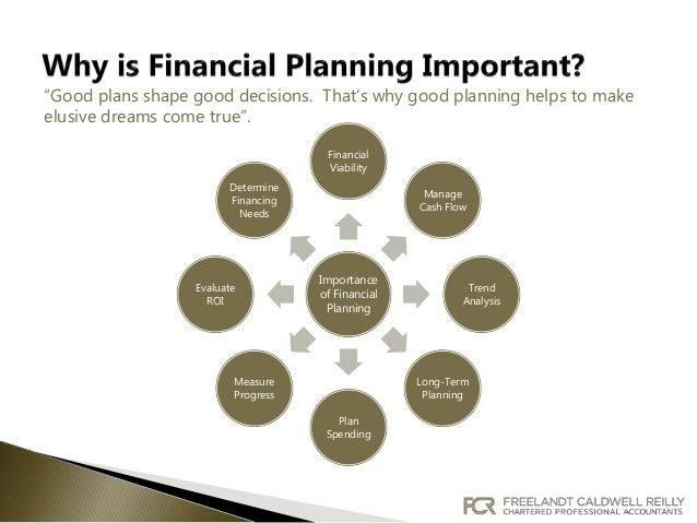 financial planning for business business plan for food business