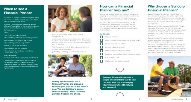 Suncorp Bank Financial Planning