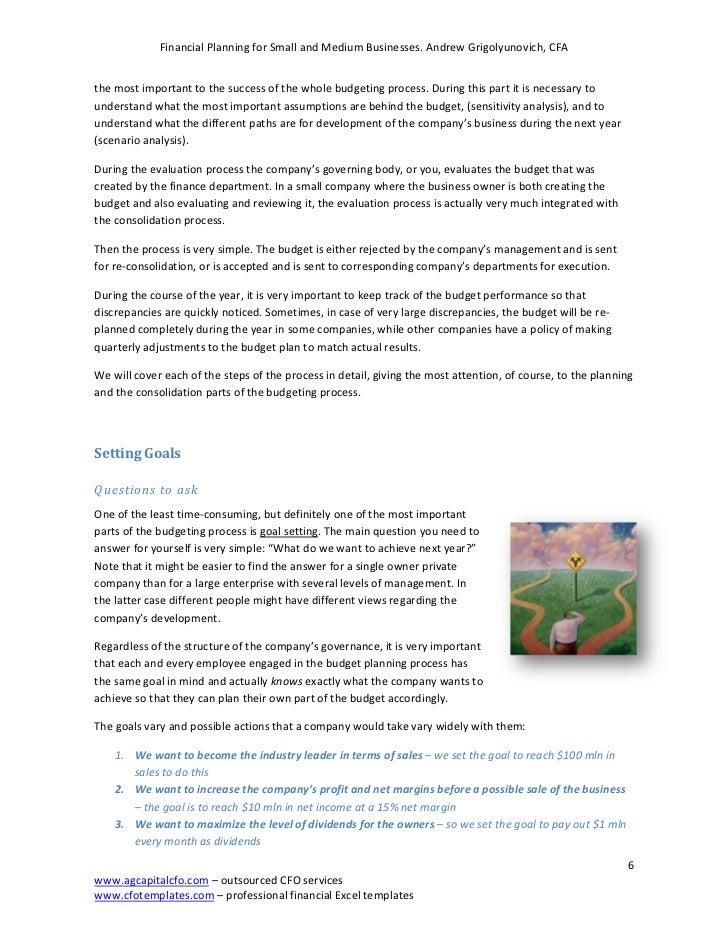 Financial planning worksheets
