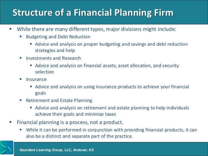 Financial Planning Overview
