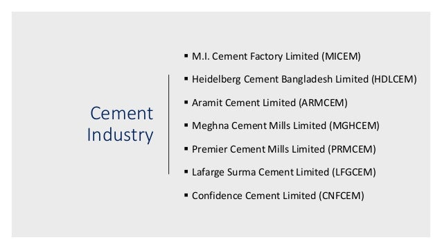 report on meghna cement mills Meghna cement mills ltd hrm report - ugb 6 dec 2016 , a feasibility study for investment in cement industry in bangladesh by , this assignment speaks about the.