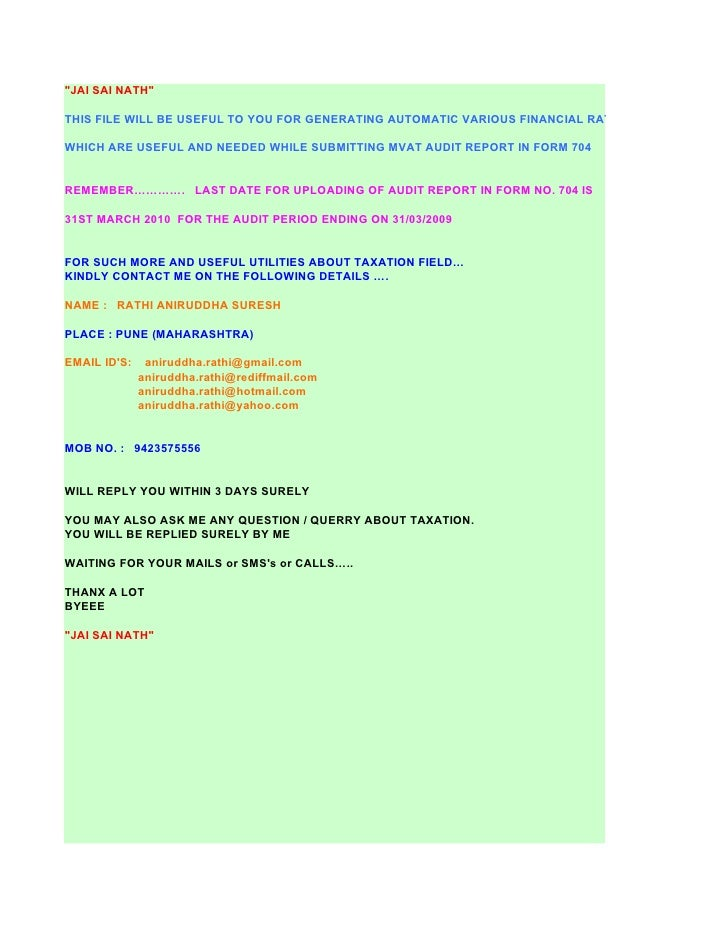 """""""JAI SAI NATH""""  THIS FILE WILL BE USEFUL TO YOU FOR GENERATING AUTOMATIC VARIOUS FINANCIAL RATIOS  WHICH ARE USEFUL AND NE..."""