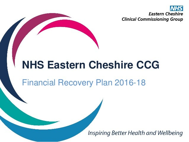 Financial Recovery Plan For Nhs Eastern Cheshire Ccg
