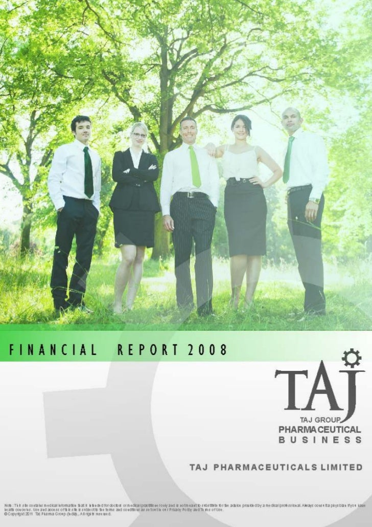 FINANCIAL                                                          REPORT 2008                                            ...