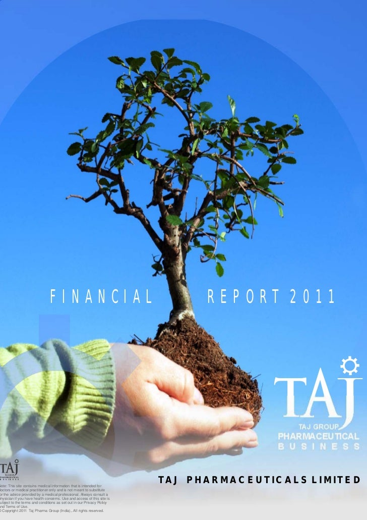 FINANCIAL                                          REPORT 2011                                                            ...
