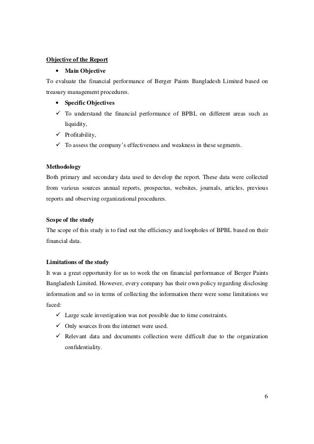 swot analysis of berger paints bd ltd The report has been started with the basic overview of bpbl then the discussion has moved to the main topic of financial performance analysis of berger paints bangladesh limited the first section under this topic contains five years financial data analysis of bpbl.
