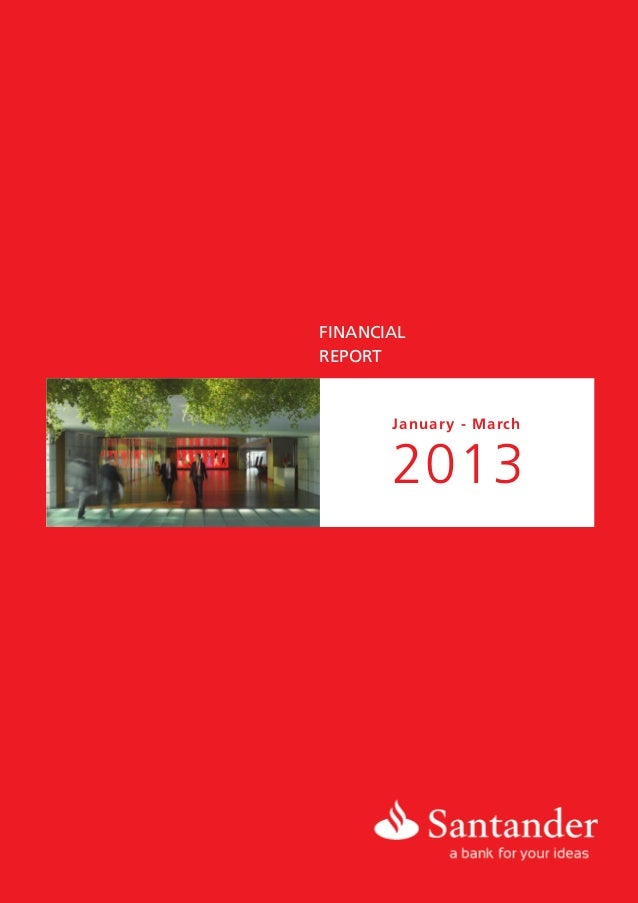 FINANCIALREPORTJanuary - March2013