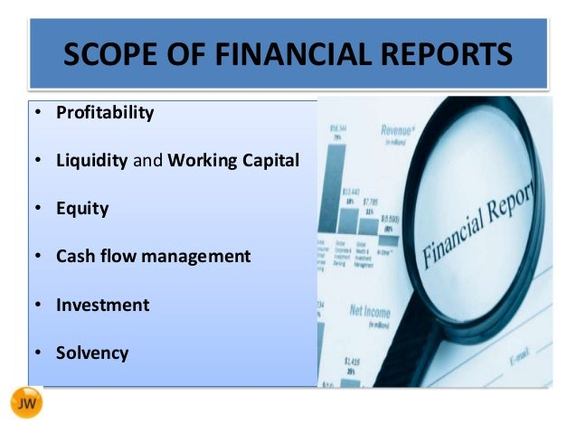 writing financial reports How to write the financial plan section of you're ready to write a brief analysis of each of the three financial statements when you're writing these.