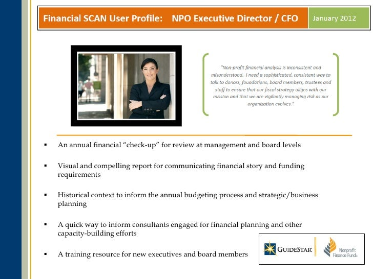 GuideStar Webinar (05/03/12) - Nonprofit Financial Health: New Tools …