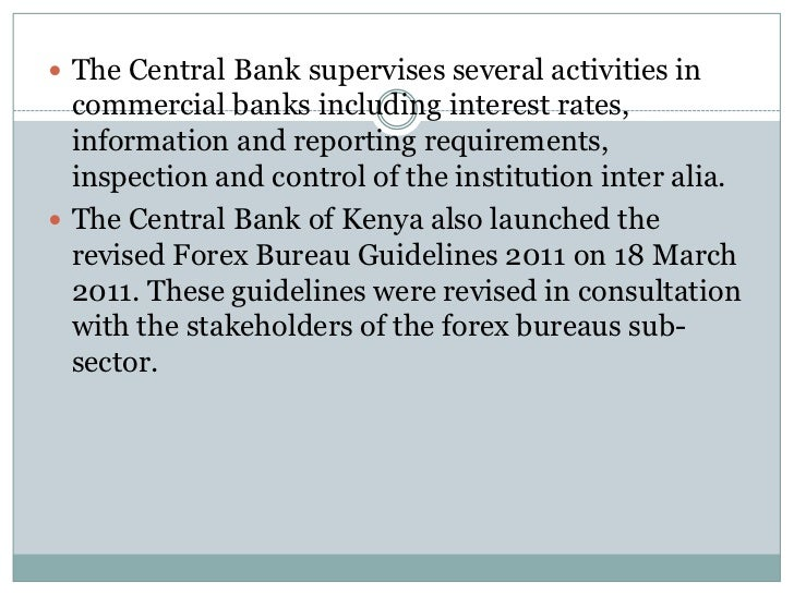 Forex central bank of kenya