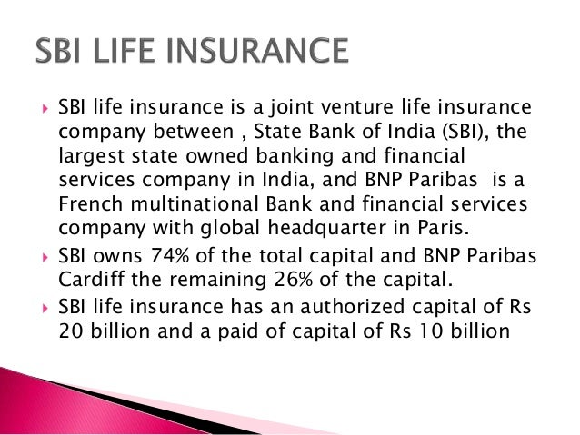 Financial services of sbi