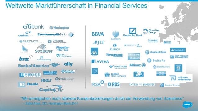Salesforce für Financial Services Slide 3