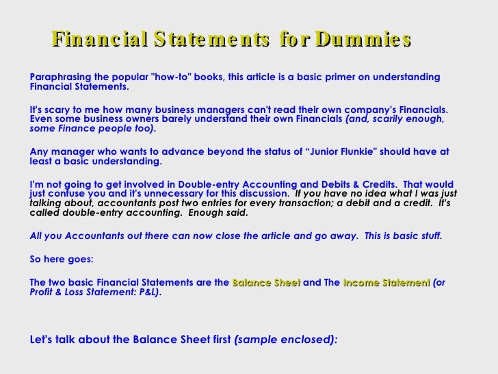 tmx how to read financials statements