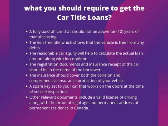 Financial solution with car title loans regina Slide 3