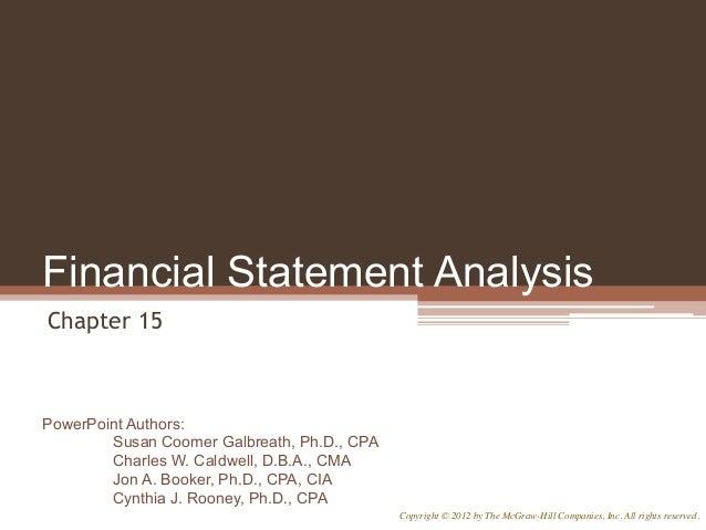 statement analysis