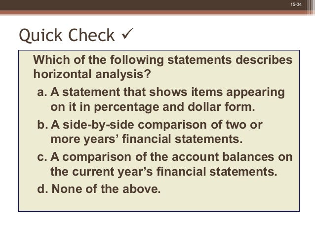 an analysis of statement number 34 The gasb's statement no 34, basic financial statements and management's discussion and analysis for state and local governments (gasb 1999), required extensive changes to the state and local government reporting model incorporating a government-wide set of financial statements that adopted an accrual basis of.