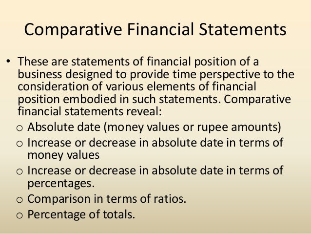 meaning of comparative analysis