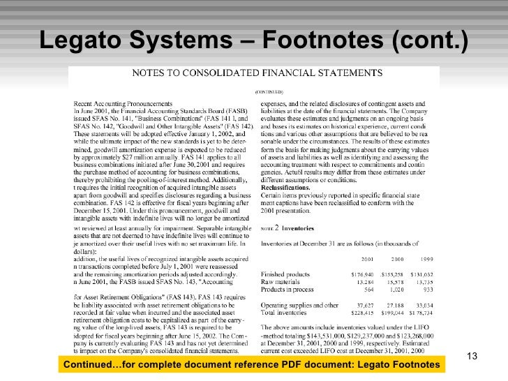 Financial Statement Analysis I Session 1