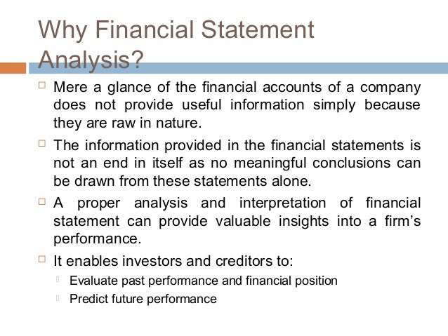 Financial statement analysis types techniques – Financial Statement Analysis