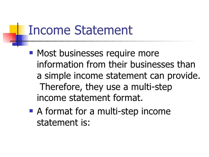 Financial Statement Preparation (2)