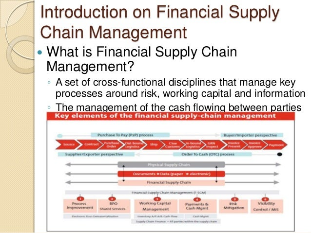 scm in banking sector The banking industry across the globe is going through a process of  which are not just new trends in the banking sector  financial supply chain management.