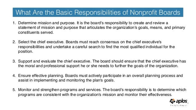 Financial Training for Board Members