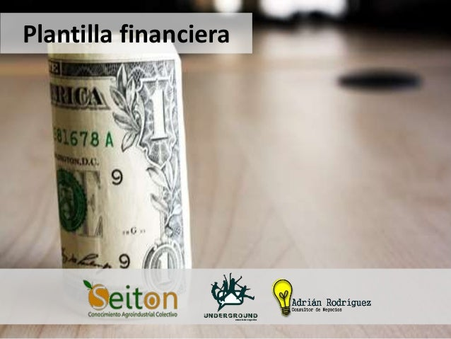 Plantilla financiera