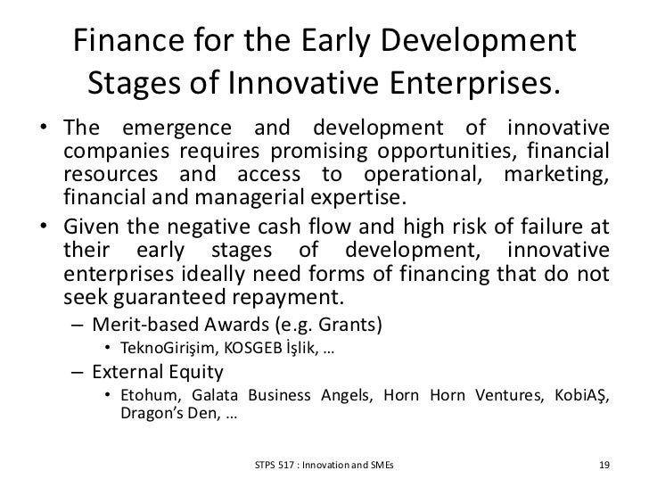 external sources of finance for start ups Internal and external sources of finance while it is true that the external sources of finance reaps without the right estimates made for start up and.
