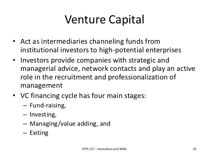 venture capital and the professionalization of Why la tech, media and financial executives are buying an esports team  the professionalization of esports continues  managing director at venture capital firm march capital partners.